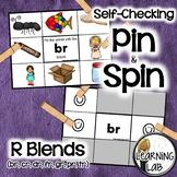 R Blends (br, cr, dr, fr, gr, pr, tr) - Self-Checking Phonics Centers