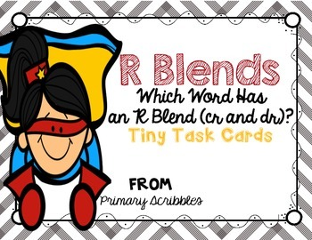 R Blends (cr and dr words)
