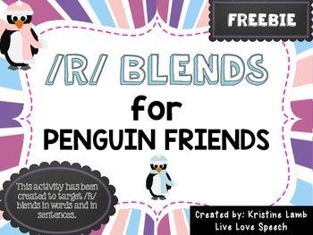 /R/ Blends for Penguin Friends {FREEBIE}