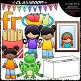 R Blends (fr) Phonics Clip Art - Consonants Clip Art