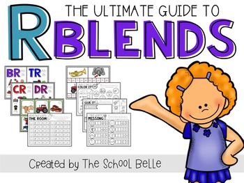 R Blends (hands-on activities and practice pages)
