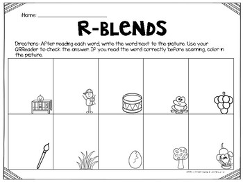 R-Blends with QR Codes
