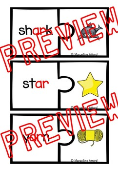 R-CONTROLLED VOWELS PRINTABLES & JIGSAW PUZZLES