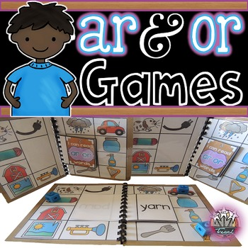 R-Contolled Vowels:  AR OR Games