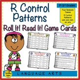 R Control Patterns Roll It!  Read It! Game Cards: war; wor