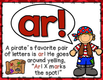 Bossy R R Controlled A Pirate Letters By Miss First Grade