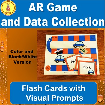 R-Controlled Vowel Game with AR word Flash Cards and Data