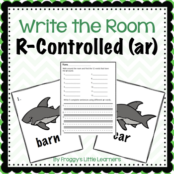 R-Controlled AR Write the Room