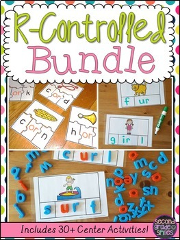 R-Controlled Vowels Word Work