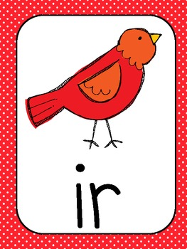 R-Controlled Classroom Vowel Posters
