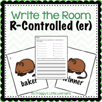 R-Controlled ER Write the Room