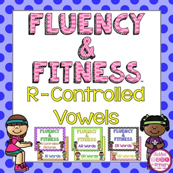 R-Controlled Fluency & Fitness Brain Breaks Bundle