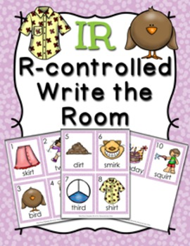 R Controlled IR Write the Room