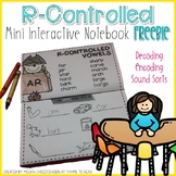 R-Controlled Interactive Notebook FREEBIE