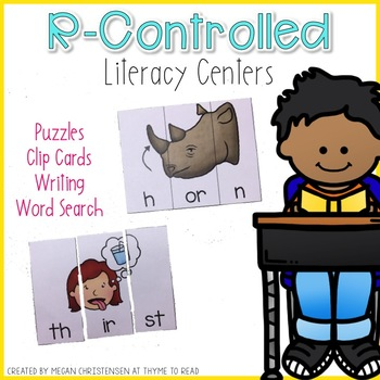 R-Controlled Literacy Centers