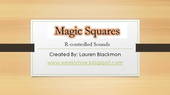 R-Controlled Magic Squares