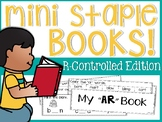 R-Controlled Mini Staple Books