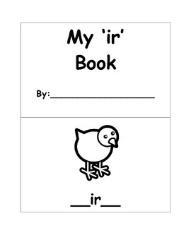 "R-Controlled ""My 'ir' Book"""