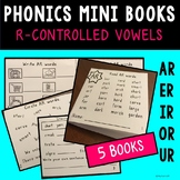 R-Controlled Phonics Mini Books -- Foldable!