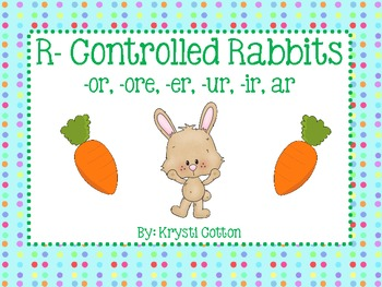 R- Controlled Rabbits (-or, -ore, -er, -ir, -ur, -ar)