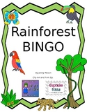 R Controlled Rainforest Bingo