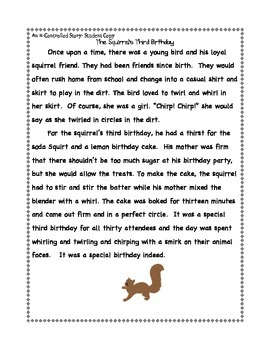 R-Controlled Reading Passage:: Fluency Check + Running Record