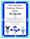 R-Controlled Sentence Fluency Tic Tac Toe