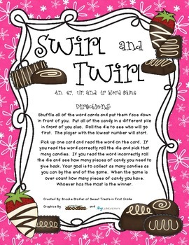 R-Controlled - Swirl and Twirl 'Scoop' Word Game