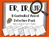 R Controlled Syllable Detective Pack - A Word Work Unit fo