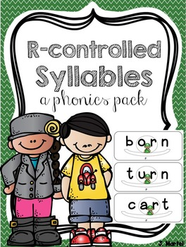 R-Controlled Syllables Made Simple (a phonics pack)