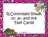 R-Controlled Task Cards or, ore, and ar