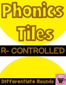 R-Controlled Task Cards to Differentiate Sounds