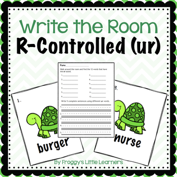 R-Controlled UR Write the Room