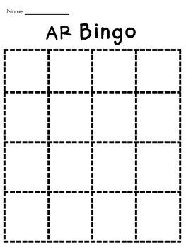 R-Controlled Vowel AR Bingo