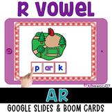 AR Digital Bossy R for GOOGLE™ Slides R Controlled Vowel B