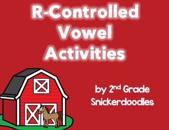 R-Controlled Vowel Activities