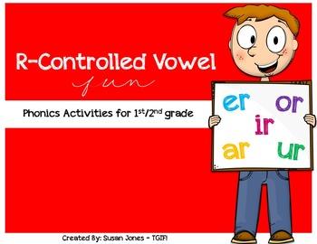 R Controlled Vowel Activities {FREEBIE}