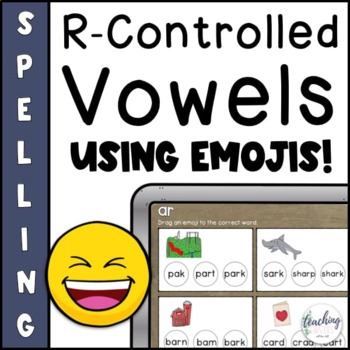 R Controlled Vowel Activities for Seesaw
