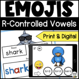 R Controlled Vowel Activities for Seesaw - Distance Learning
