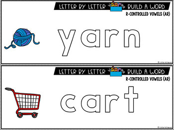 R-Controlled Vowel Activities | Magnetic Letters Activities