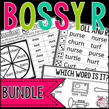 Bossy R: Word Work Bundle Sample