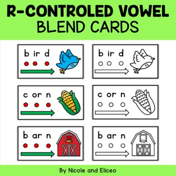 R Controlled Vowel Blend Cards