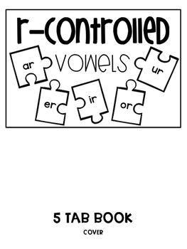 R Controlled Vowels Book