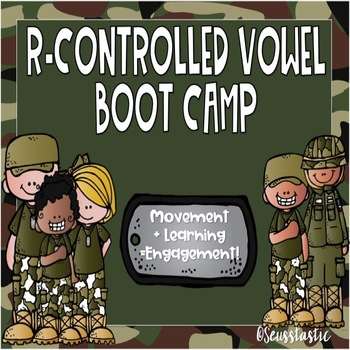 R-Controlled Vowel Boot Camp (50% off for 48 Hours!)