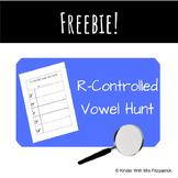 R- Controlled Vowel/Bossy R word Hunt