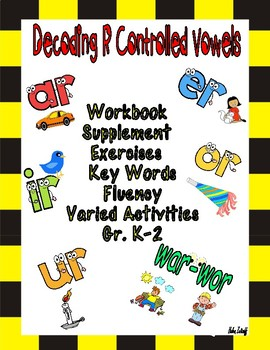 R-Controlled Vowel Bundle (ar, er, ir, ur, or, and war/wor)
