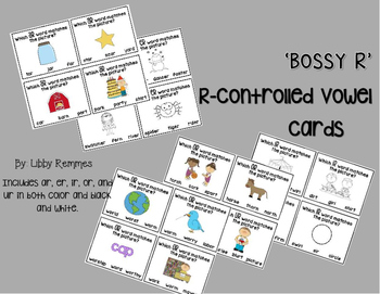 R-Controlled Vowel Cards