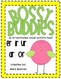 R-Controlled Vowel Center Activities - Bossy Buddies