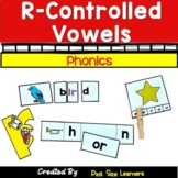 R  Controlled Vowels Activities & Worksheets | R Controlle