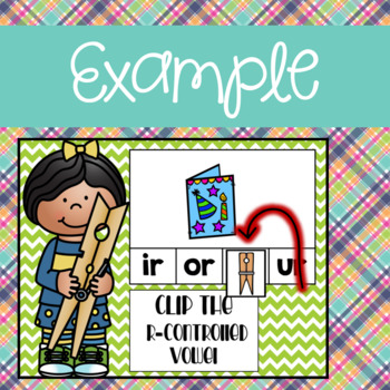 R Controlled  Vowel Clip Activities using Google Slides and Classroom